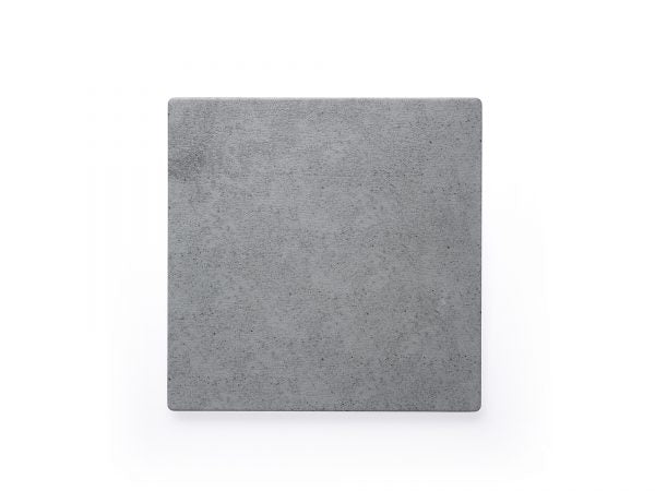 CHEF INOX SQUARE LIGHT GREY SLATE MELAMINE 255x255mm - Catering Sale