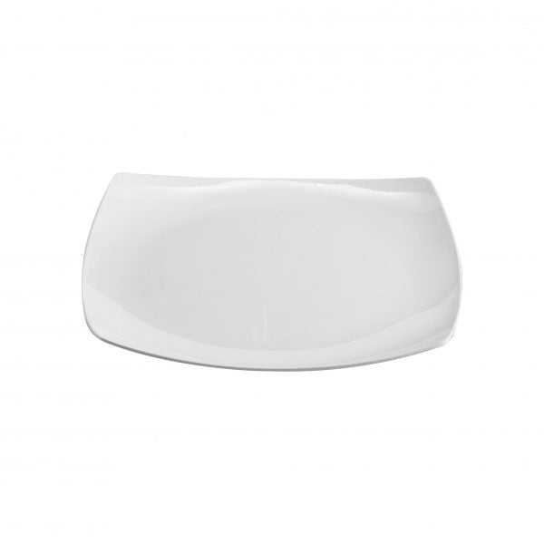 SQUARE PLATE COUPE 190mm (12pcs) - Catering Sale