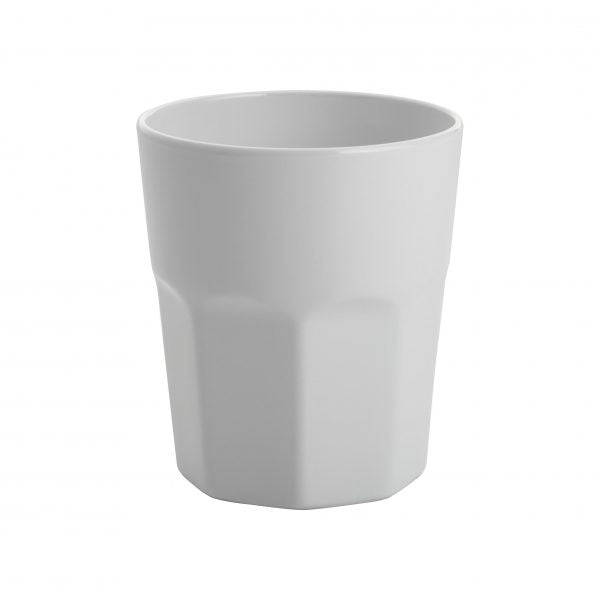 GELATO- WHITE TUMBLER 100mm 410ml (12pcs) - Catering Sale