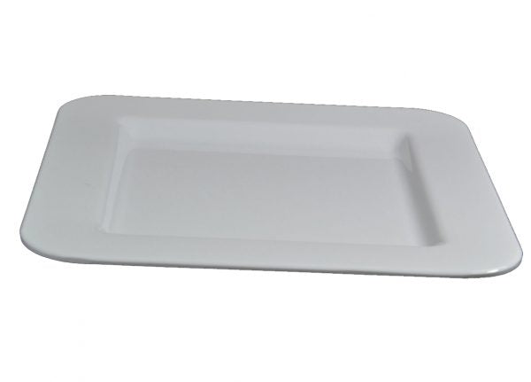 SQUARE PLATE CURVED CORNERS 300x300mm 6pcs/set - Catering Sale