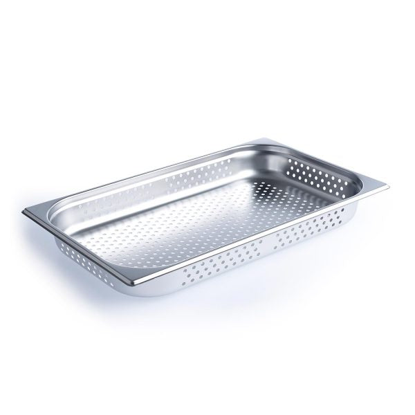 CHEF INOX PERFORATED ANTI-JAM STEAM PAN - Catering Sale