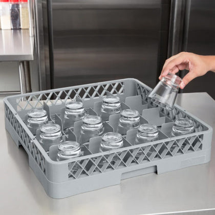 CHEF INOX WASHRACK 16-COMP 490x490x100mm - Catering Sale
