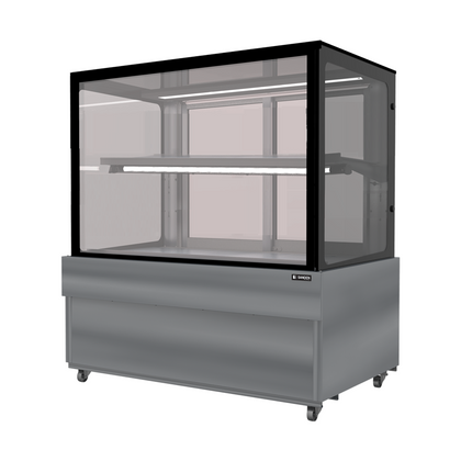 SANDEN SKS-1207Y-1 - 2 Tier Flat  Glass Display - Catering Sale