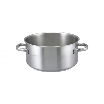CASSEROLE-18/10 24.6lt 450x155mm Series 1000