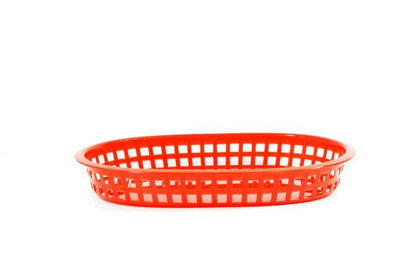 CONEY IS-PLASTIC SERVING BASKET RECT (3 Colors) 12pcs/set