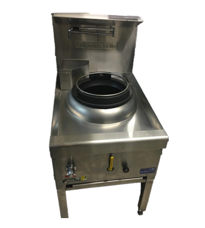USED) Goldstein CWA1 Air Cooled Gas Wok - Single - Catering Sale