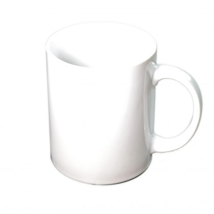 VITROCERAM COFFEE MUG-350ml WHITE - Catering Sale
