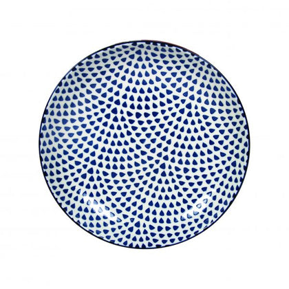 GUSTA-OUT OF THE BLUE ROUND PLATE DROPS 265mm (6pcs) - Catering Sale