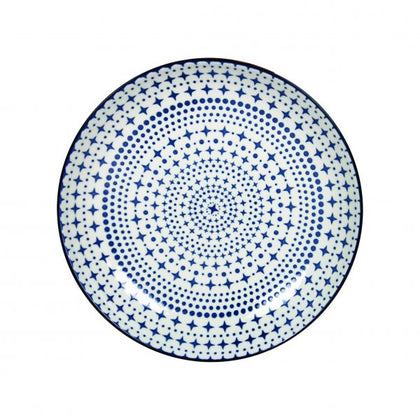 GUSTA-OUT OF THE BLUE ROUND PLATE STARS 265mm (6pcs) - Catering Sale