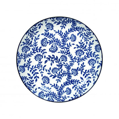 GUSTA-OUT OF THE BLUE ROUND PLATE FLOWERS 265mm (2pcs) - Catering Sale