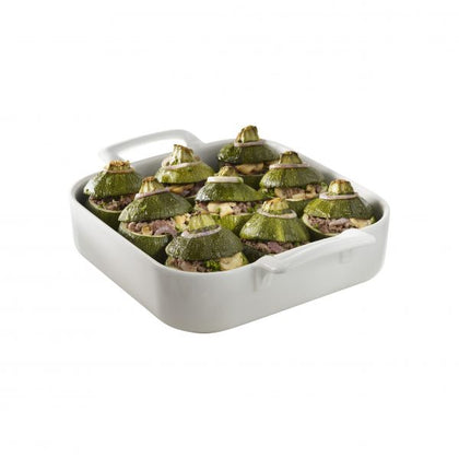 REVOL BELLE CUISINE DEEP SQ. BAKING DISH 240x240x65mm - Catering Sale
