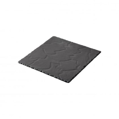 REVOL BASALT SQUARE PLATE 300mm - Catering Sale