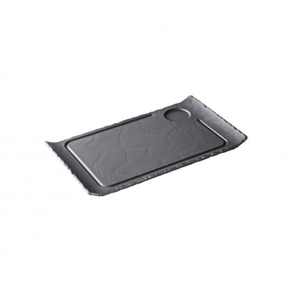 REVOL BASALT STEAK PLATE 390 x240mm - Catering Sale