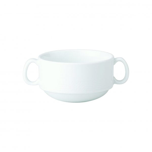 SOUP CUP-0.35lt 2xHDL STACK MAXIM (SAUCER 94211) (1926) - Catering Sale