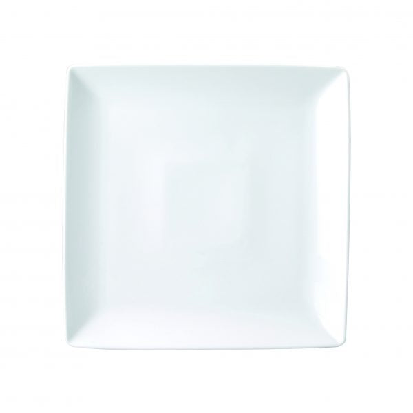 SQUARE PLATE DEEP-240mm CHELSEA (4108) 12pcs/set - Catering Sale