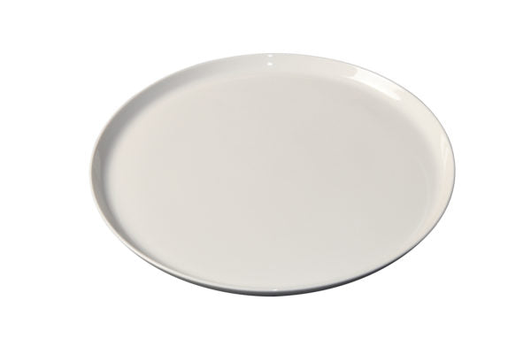 WHITE ALBUM ROUND FLARED COUPE PLATE 285x20mm (U3201) - Catering Sale