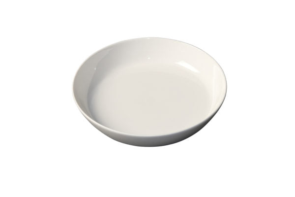 WHITE ALBUM ROUND BOWL FLARED SIDES 210x40mm (U3211) - Catering Sale