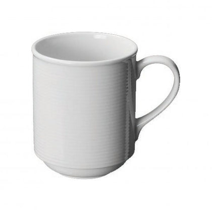 COFFEE MUG-STACKABLE 300ml AURA (6pcs) - Catering Sale