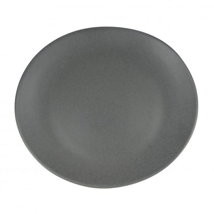 ARTISTICA OVAL PLATE-250x220mm SLATE (4pcs) - Catering Sale