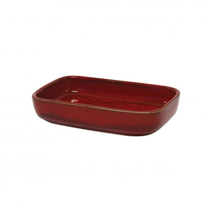 ARTISTICA RECTANGULAR DISH 170x105x40mm REACTIVE RED (4pcs) - Catering Sale