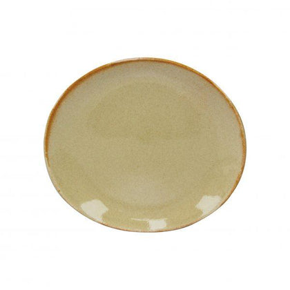 ARTISTICA OVAL PLATE-250x220mm FLAME (4pcs) - Catering Sale