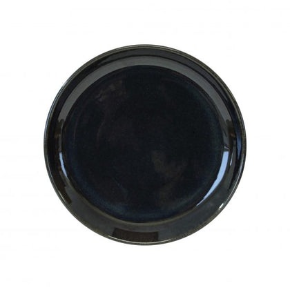 ARTISTICA ROUND PLATE-190mm Rolled Edge MIDNIGHT BLUE (4pcs) - Catering Sale