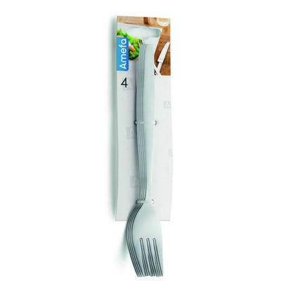 AMEFA AMSTERDAM HANGING CARD CAKE FORK 4PC - Catering Sale