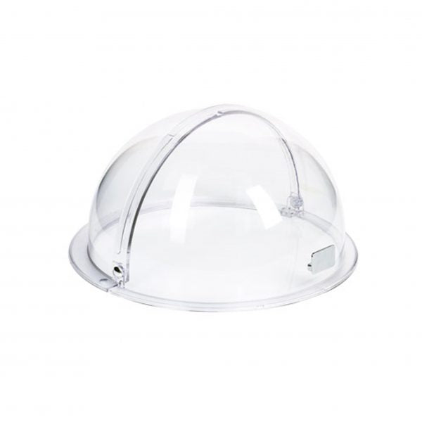 APS ROLLTOP COVER- W/HANDLEROUNDCLEAR 380mm TO SUIT 40295 - Catering Sale