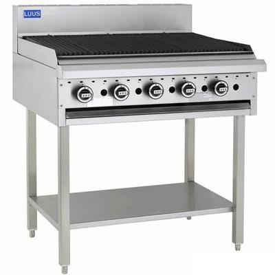 LUUS BCH-9C 900 BBQ & Shelf - Catering Sale