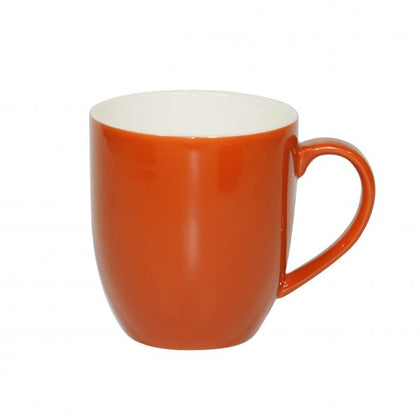BREW-SAFFRON/WHITE MUG 380ml (6pcs) - Catering Sale