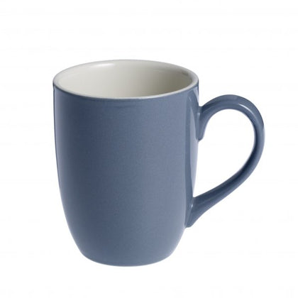 BREW-STEEL BLUE/WHITE MUG 380ml (6pcs) - Catering Sale