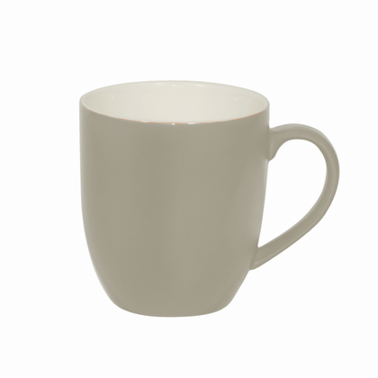 BREW-HARVEST/WHITE MATT MUG 380ml (6pcs) - Catering Sale