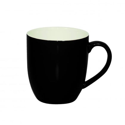 BREW-ONYX/WHITE MUG 380ml (6pcs) - Catering Sale