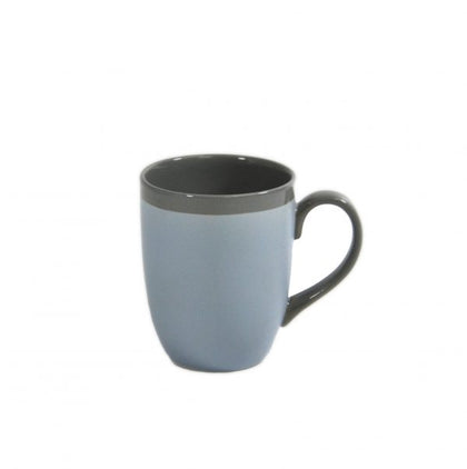 BREW-SILVER ICE MATT/GLOSS MUG 380ml (6pcs) - Catering Sale