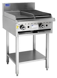 LUUS CS-3P3C 300 grill, 300 char & shelf - Catering Sale