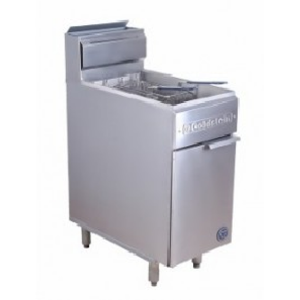 Twin split pan Gas fryer - Catering Sale