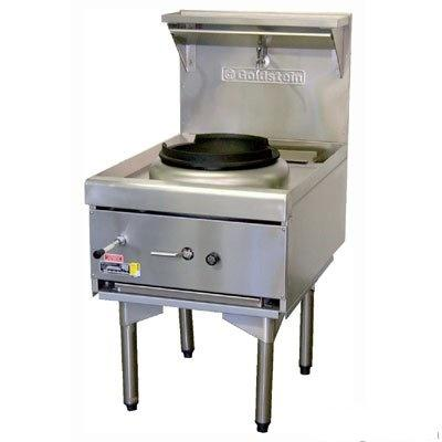 Used Goldstein CWA1 Air Cooled Gas Wok - Single