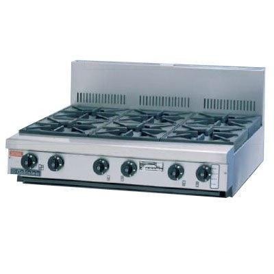 Goldstein PFB-36 6 Burner Gas Bench Top - Catering Sale
