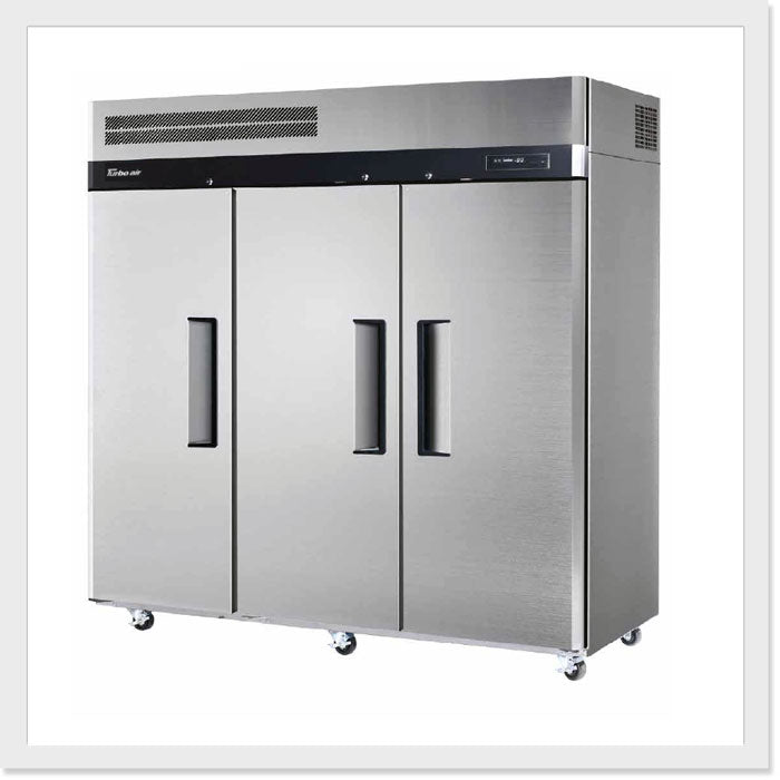 Turbo Air KF65-3 Top Mount Three Door Freezer - Catering Sale