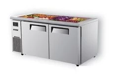 Turboair KSR15-2 Two Door Salad Side Prep Bench Fridge - 1500mm