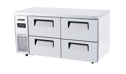 Turboair COUNTER FREEZER 4 DRAWERS 1500 KUF15-2D-4 - Catering Sale