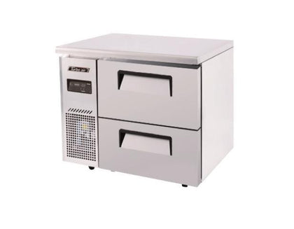 Turboair COUNTER FREEZER 2 DRAWERS 900 KUF9-2D-2