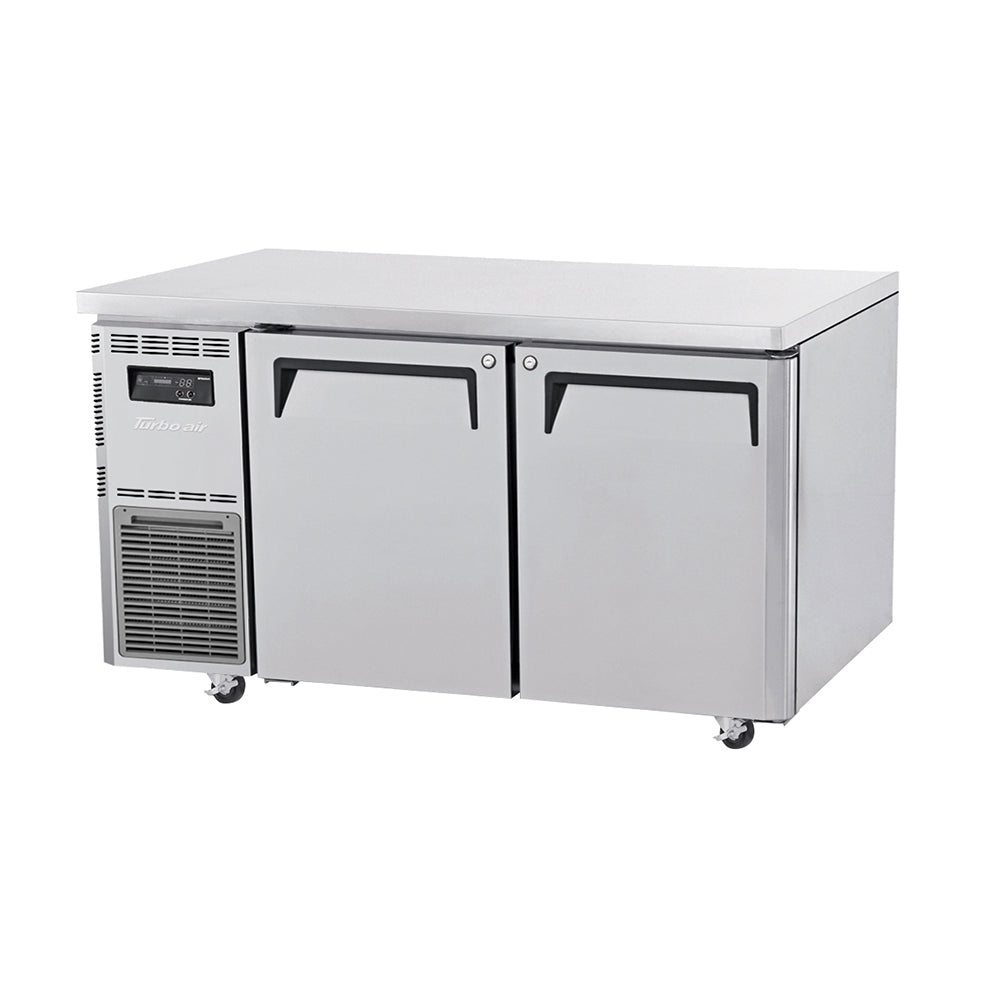 Turbo Air KUF15-2 Under Counter Side Prep Table Freezer - Catering Sale
