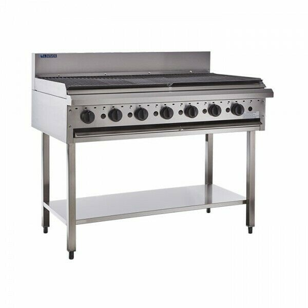 LUUS BCH-12C 1200 Chargrills & shelf - Catering Sale