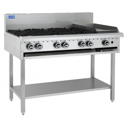 Luus BCH-6B3P 6 Burners, 300 Grill & Shelf