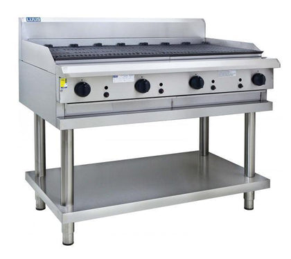 LUUS CS-12C 1200 char & shelf - Catering Sale