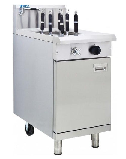LUUS NC-45 450mm 6 Baskets Noodle Cooker - Catering Sale