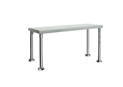 FED-Single Tier Workbench Overshelf 450mm High - Catering Sale