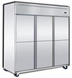 Semak Dual Upright Freezer / Chiller BSDU4C2F