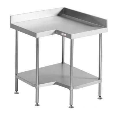 Simply Stainless Corner Bench (700 Series) - Catering Sale